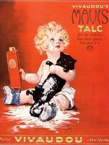 Mavis Talc Cats Talcum Powder, USA, 1920