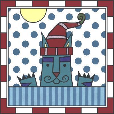 Max Cat Peek-A-Boo 1-Denny Driver-Giclee Print