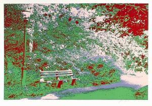 Bench in the Park by Max Epstein