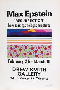 Resurrection, Exhibition of Paintings, Collages & Sculpture by Max Epstein