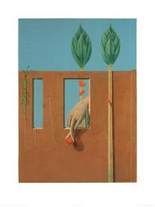 At the First Clear Word, c.1923 by Max Ernst