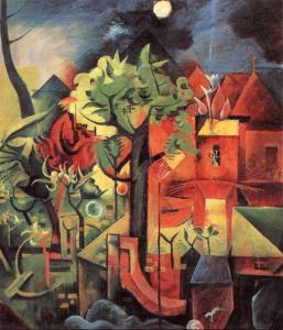 Fruhling by Max Ernst