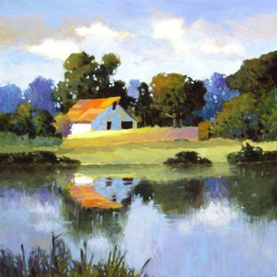 Barns on Greenbrier II by Max Hayslette