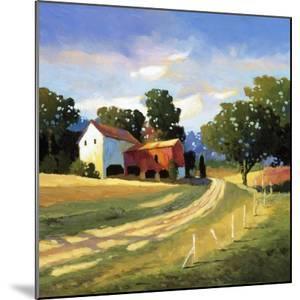 Barns on Greenbrier V by Max Hayslette