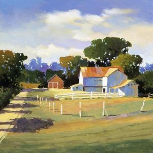Barns on Greenbrier VI by Max Hayslette