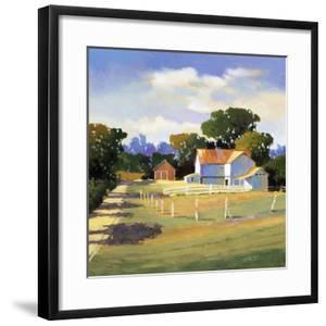 Barns on Greenbrier VI by Max Hayslette