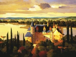 Chateau on the Loire by Max Hayslette
