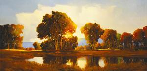 Evening Rain by Max Hayslette