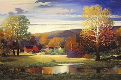 Late Evening in Autumn by Max Hayslette