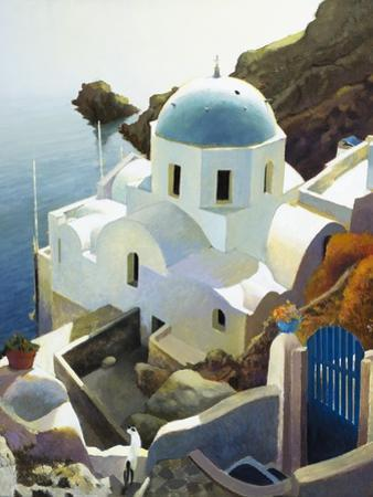 Postmark Santorini by Max Hayslette