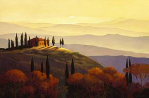 Tuscan Sunrise by Max Hayslette