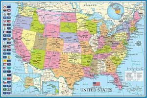 Maps of the United States by Max Kendricks