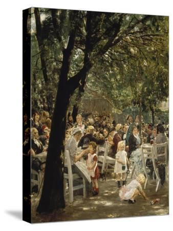 A Munich Beer Garden, 1883/84