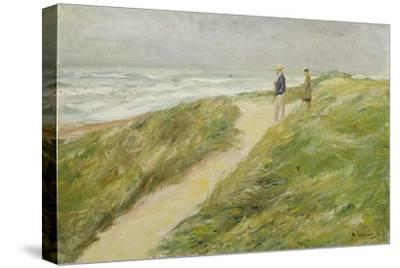 At the Beach of Katwijk, C. 1909