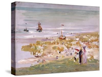 Beach, Scheveningen (Der Strand, Scheveningen), 1900