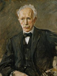 Composer Richard Strauss (1864-1949) by Max Liebermann