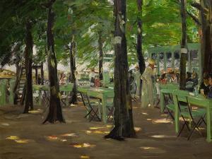 De Oude Vinck, Garden Restaurant in the Outskirts of Leiden, Netherlands, 1905 by Max Liebermann