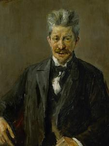 Georg Brandes (1842-1927), Danish Art Critic, 1902 by Max Liebermann