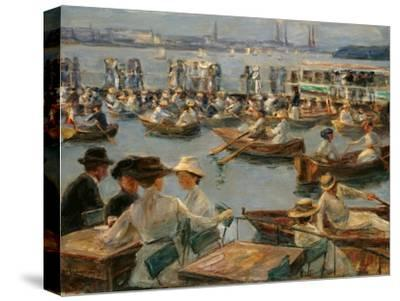 On the Alster in Hamburg, 1910