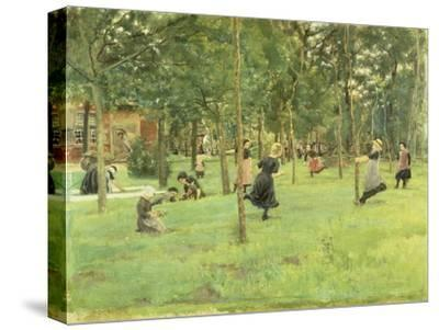 Playing Children in the Park, 1882