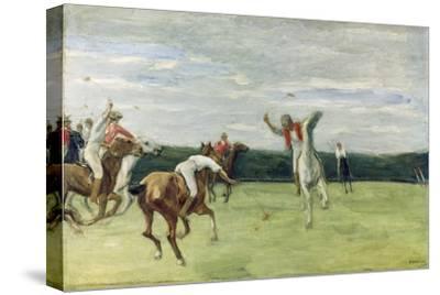 Polo player in Jenisch-Park, Hamburg 1902 - 1903