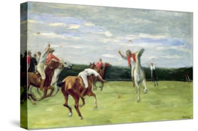 Polo Player in Jenischpark, Hamburg, 1903