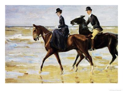 Riders on the Beach, 1903