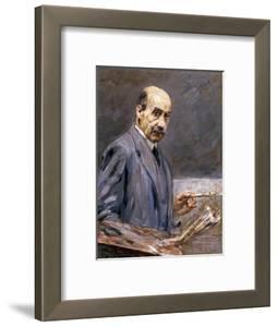 Self Portrait; Selbstbildnis by Max Liebermann