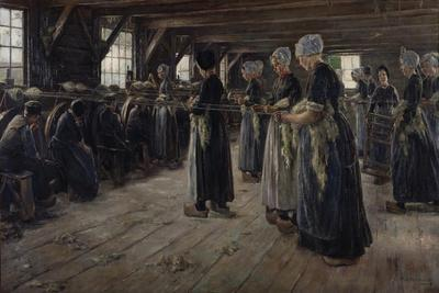 The Flax Barn at Laren, 1887