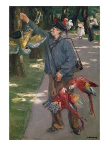 The Parrot Man, 1901/1902 by Max Liebermann