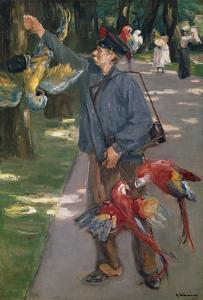 The Parrot Man, 1901/1902 by Max Liebermann