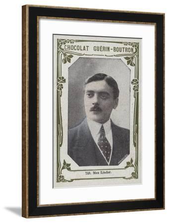 Max Linder--Framed Giclee Print