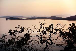 Sunset over Islands in Indonesia by Max Lowe