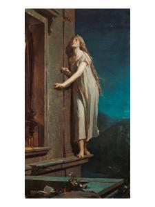 The Somnambulist, 1878 by Max Pirner
