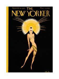 The New Yorker Cover - September 19, 1925 by Max Ree