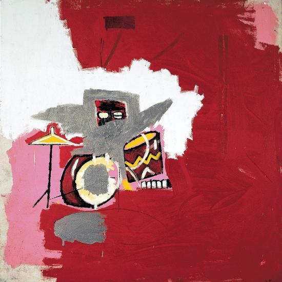 Max Roach-Jean-Michel Basquiat-Giclee Print
