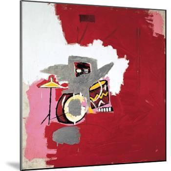 Max Roach-Jean-Michel Basquiat-Mounted Giclee Print