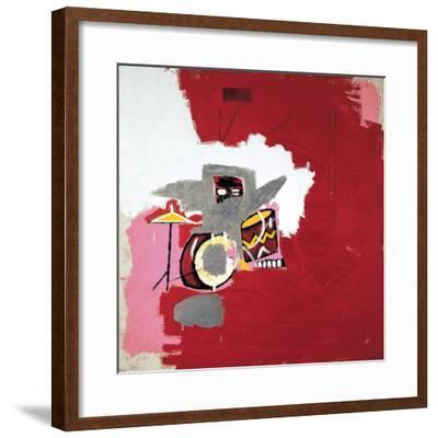 Max Roach-Jean-Michel Basquiat-Framed Premium Giclee Print
