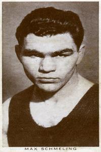 Max Schmeling, German Boxer, 1938