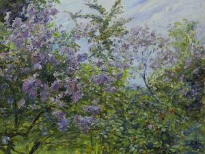 Blooming Lilac, about 1921 by Max Slevogt