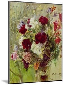 Bouquet of Flowers, 1896 by Max Slevogt