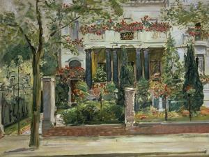Front Garden of the Steinbart'Sche Villa, Berlin, 1911 by Max Slevogt