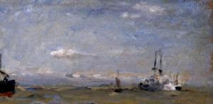 Kleine Marine (Small Seascape), 1905 by Max Slevogt