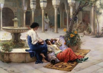 A Harem Beauty by Max Von Bredt