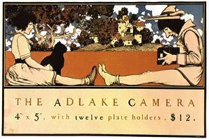 Adlake Camera by Maxfield Parrish