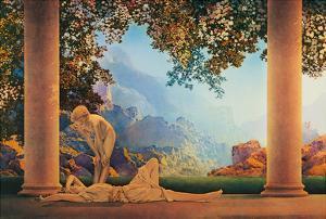 Daybreak by Maxfield Parrish