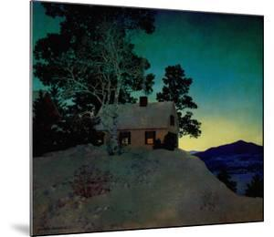 Dusk by Maxfield Parrish