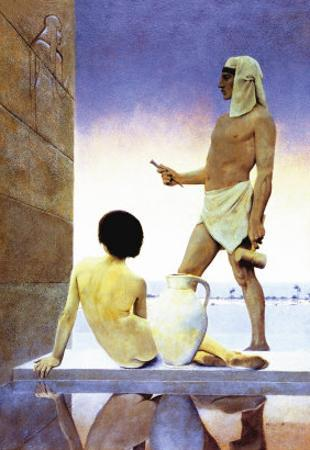 Egypt by Maxfield Parrish