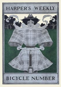 Harper's Weekly Bicycle Number by Maxfield Parrish