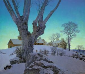 Hill Top Farm by Maxfield Parrish
